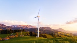 energy transition wind turbine photo