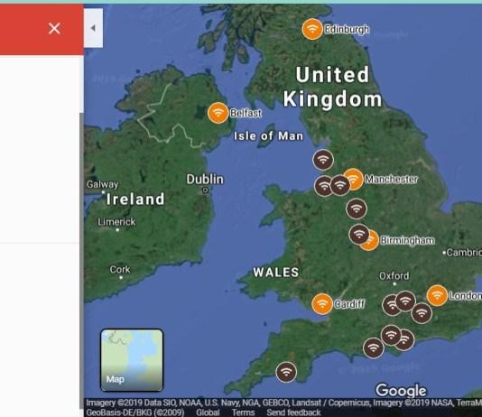 5g uk-5g network coverage map uk