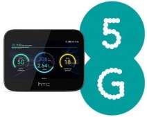 htc 5g hub with EE 5g