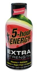 Watermelon flavor Extra Strength 5-hour ENERGY® shot
