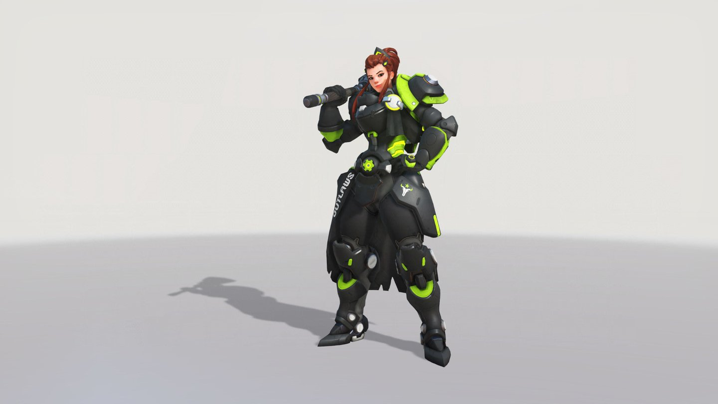 Overwatch Alle Legendren Skins Von Brigitte OWL Team