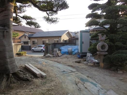 工事前の写真