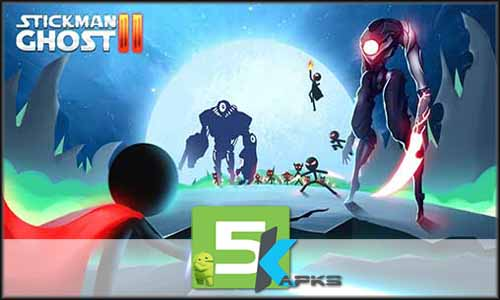 Stickman Ghost 2 Galaxy Wars free apk full download 5kapks