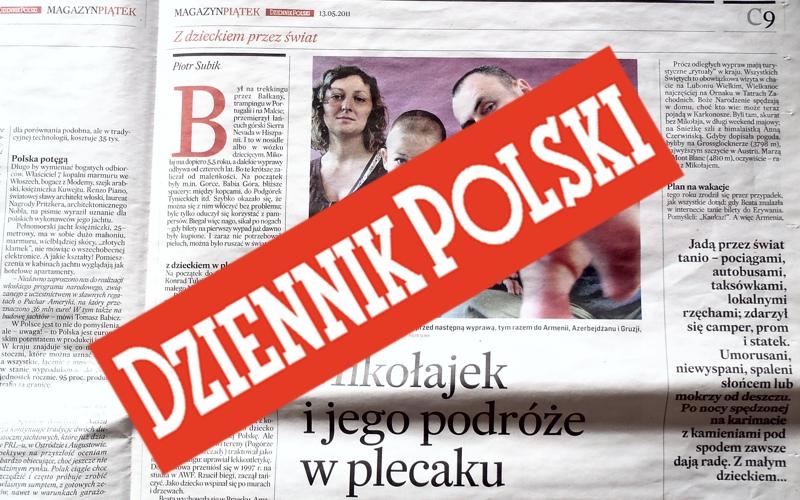 Mikołajek w Dzienniku Polskim