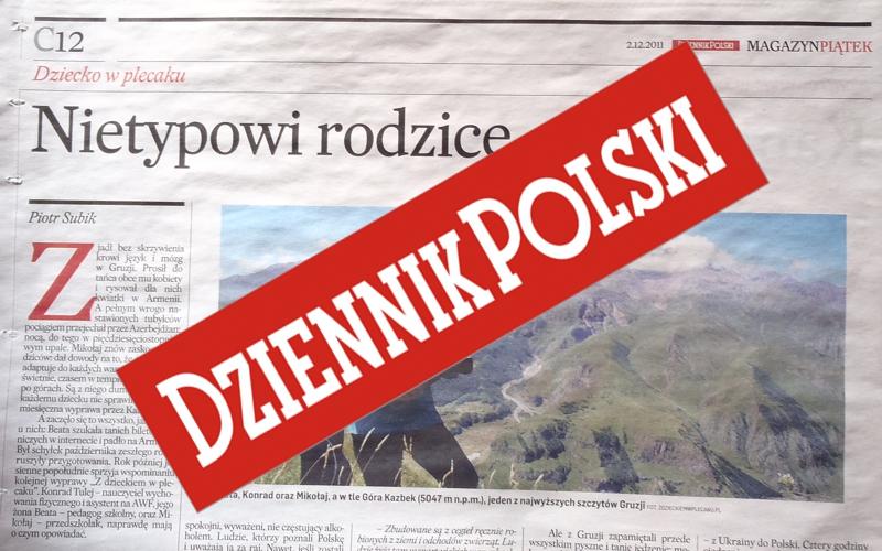 Nietypowi rodzice - Dziennik Polski