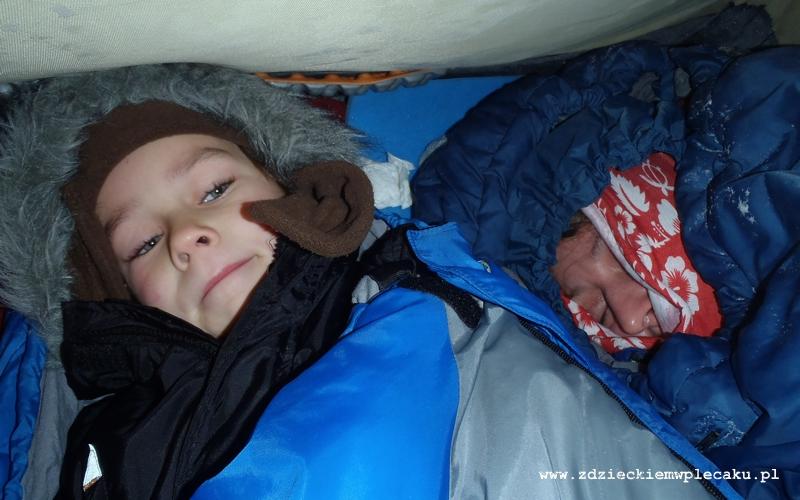 Noc Sylwestrowa w namiocie