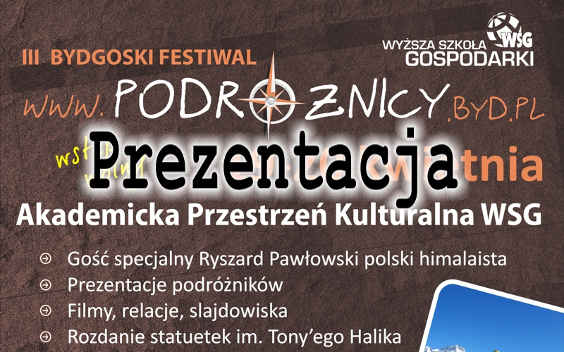Bydgoski Festiwal Podróżnicy 2013