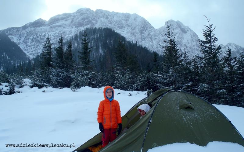 Noworoczny biwak w Tatrach