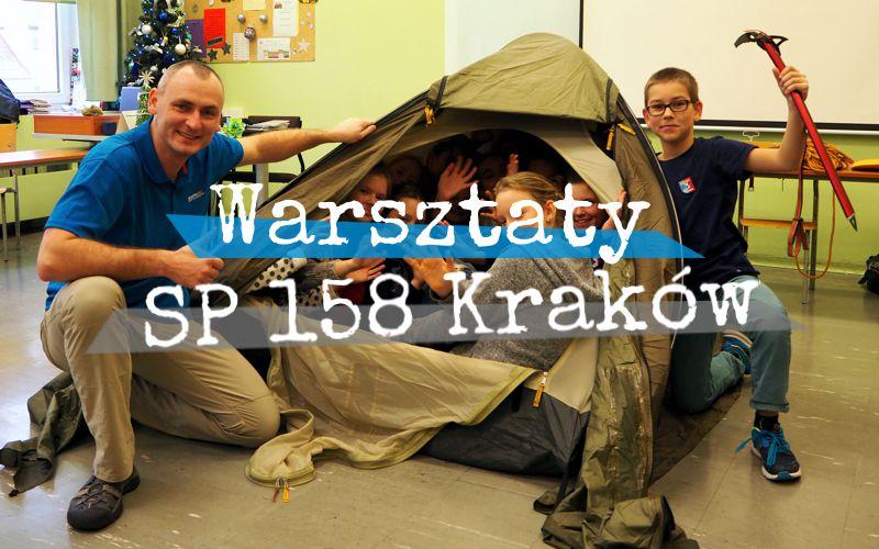 Lekcja przyrody w SP nr 158 w Krakowie
