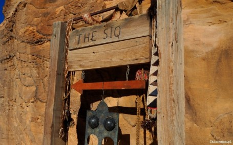 Petra - wąwóz al-Siq - Jordania - Piąty Kierunek01