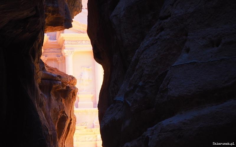 Petra - wąwóz al-Siq - Jordania - Piąty Kierunek12