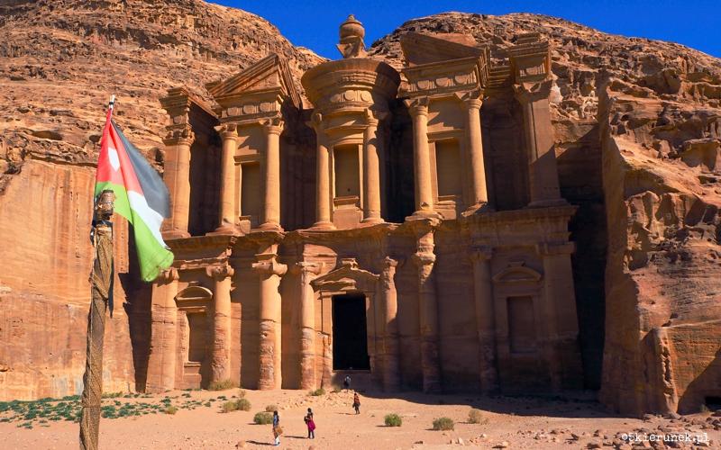 Petra - Little Petra - trekking - Piąty Kierunek03