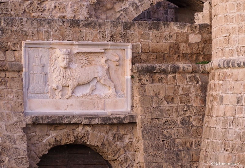 Famagusta - stare miasto - Cytadela (Wieża Otella)
