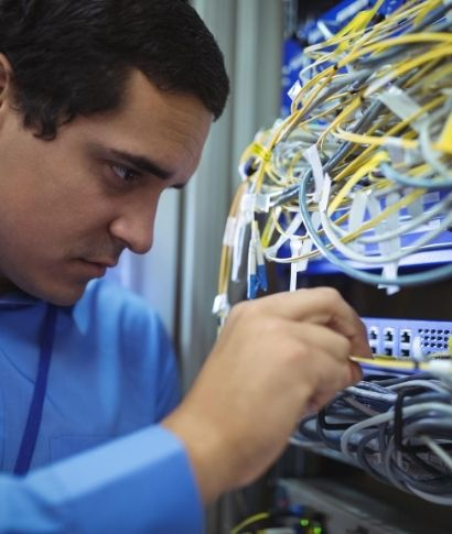 Low voltage cabling electrician in New York Office