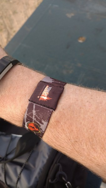 The new tough mudder timing chips are pretty awesome! Even better, you get to keep it after the race!