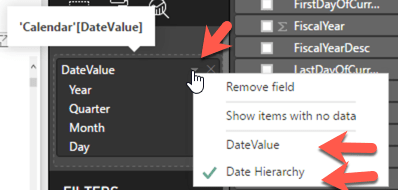 How to use Date vs Date Hierarchy in Power BI - 5MinuteBI