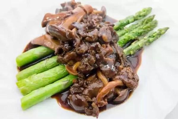 Vegetable and Beef Stir Fry