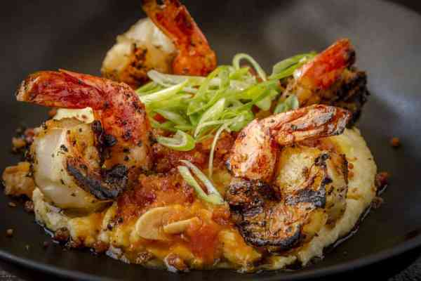 Creamy Shrimp and Bacon