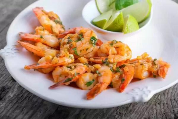 Low Carb Cilantro Lime Shrimp