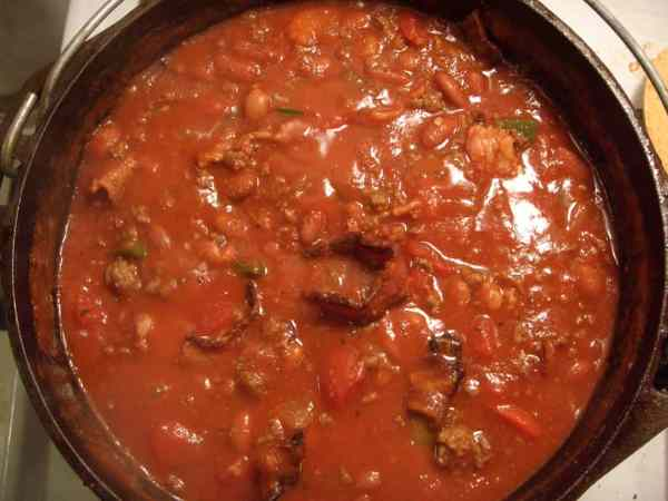 Low Carb Crockpot Chili