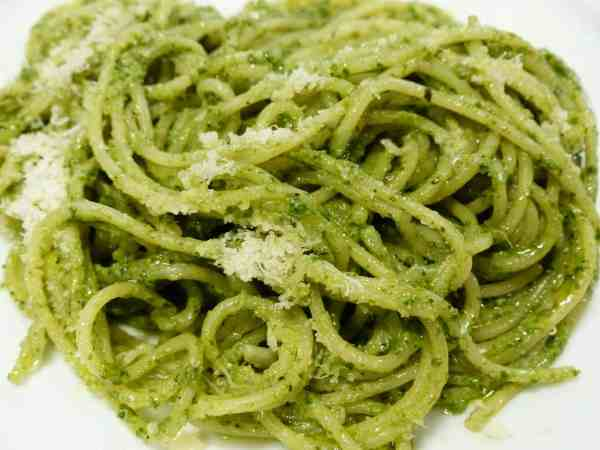 Zucchini Veggetti Basil Pesto- Keto dinner recipes