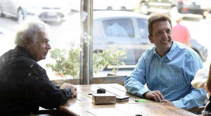 Massa compartió un café con de la Sota con sabor a Peronismo