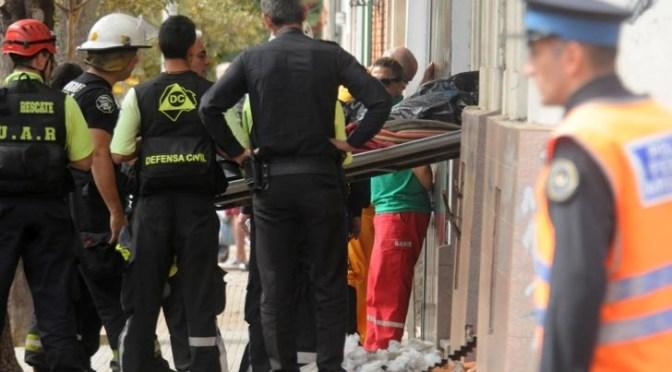 En Flores mueren dos niños en un incendio de un taller clandestino