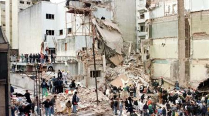 Las víctimas del atentado terrorista a la AMIA tienen Ley de indemnización