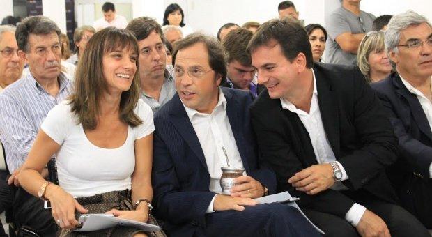 Giustozzi sigue en carrera y se mostró con Malena Galmarini en San Isidro