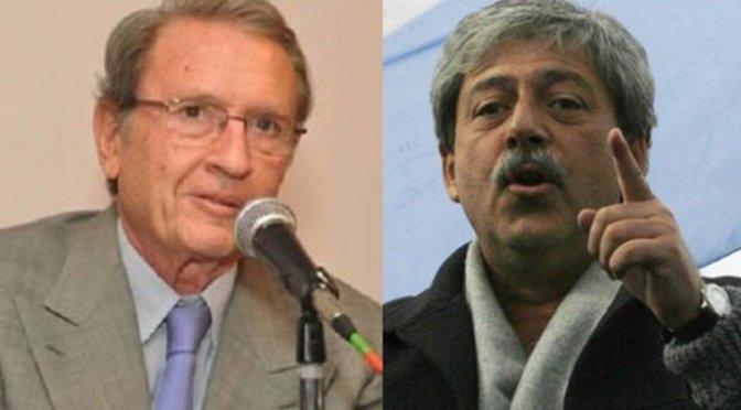 "Eduardo Bussi y Grondona en un ""escrache"" presidencial"