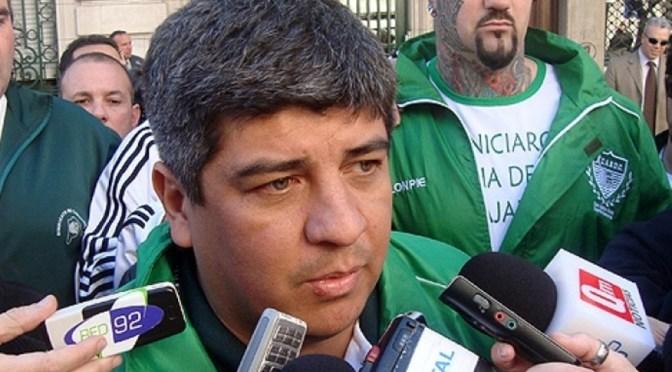 """Pablo Moyano: """"Camioneros no va a firmar por menos del 33 por ciento que firmó el año pasado"""""""