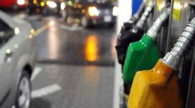 Las naftas y el gasoil suben el 2.5 %