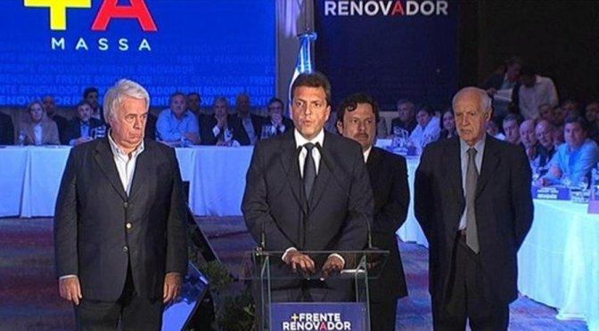 """Sergio Massa: """"No somos dueños de los votos de la gente, convenzan a los ciudadanos que nuestras propuestas se van a cumplir"""""""