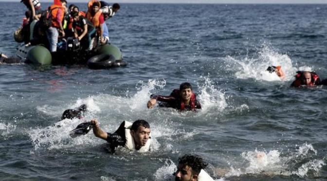 Grecia: 7 inmigrantes muertos en un naufragio en el mar Egeo