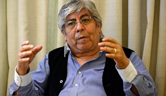 """Hugo Moyano: """"La devaluación no la va a pagar el trabajador"""""""
