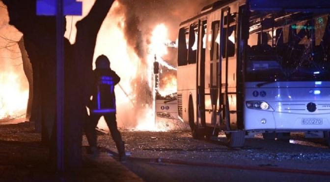 Turquía: un atentado en Ankara dejó 28 muertos y 61 heridos