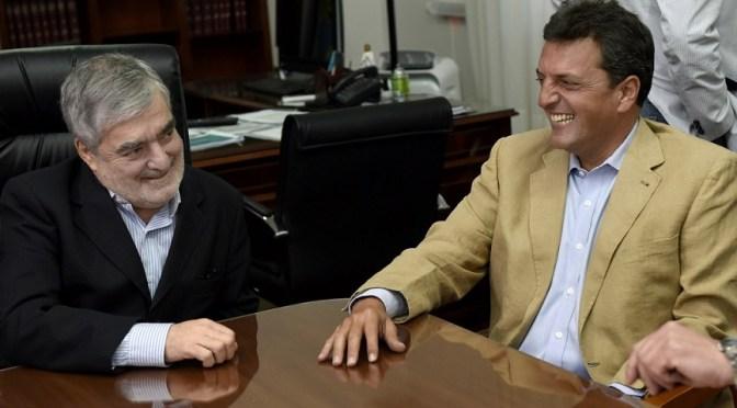Sergio Massa se reunió con el Gobernador de Chubut Mario Das Neves