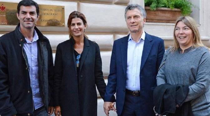 Mauricio Macri está en Roma