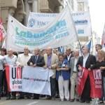 La Bancaria movilizó contra posible cierre del Citibank
