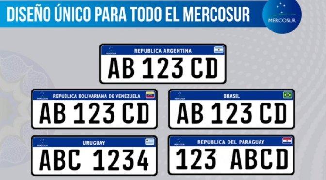 Patente Mercosur: comenzarán a entregarse desde este viernes en todos los Registros del Automotor del País