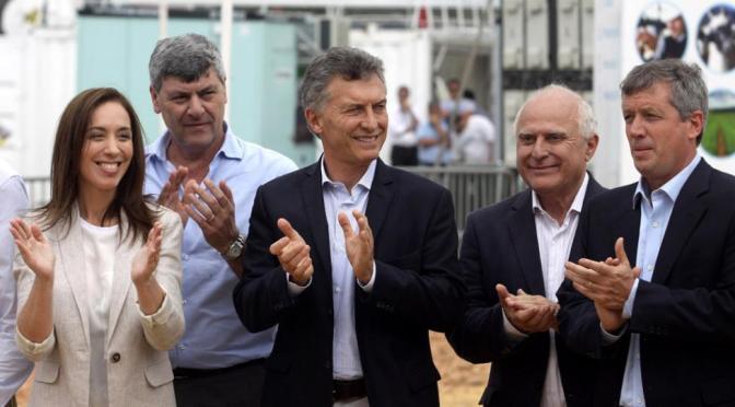 """Expoagro: Macri inauguró la muestra y expresó """"gobernar es generar confianza"""""""