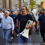 UOM: Caló encabezó movilización por aumento salarial