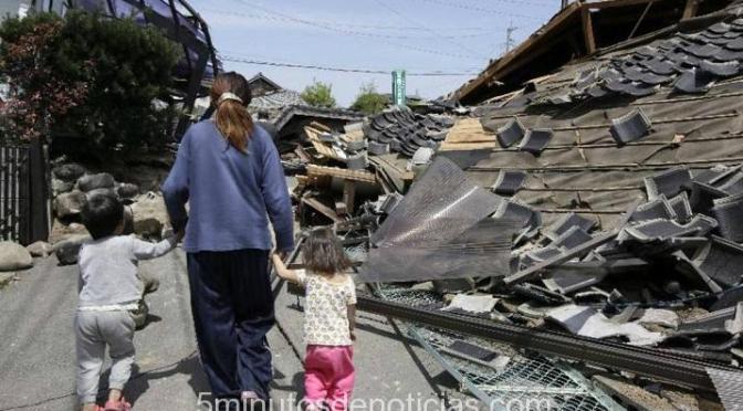 Japón: más de 25 muertos en el segundo terremoto en dos días