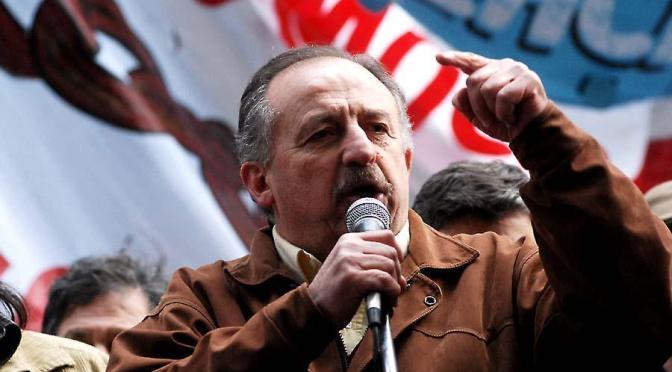 """Hugo Yasky: """"espero que se derritan los tapones que el Presidente tiene en los oídos"""""""