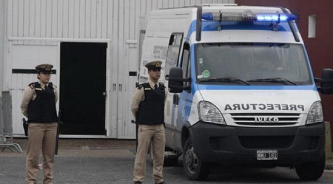 Costa Salguero: desplazaron a seis efectivos de Prefectura