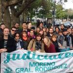 Médicos y Judiciales bonaerenses marcharon al obelisco