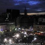 #NiUnaMenos: una multitud se concentró frente al Congreso