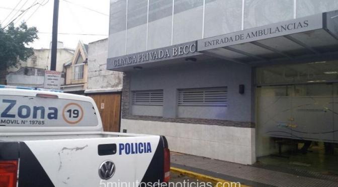 DOS FALSOS MÉDICOS DETENIDOS TRAS INSPECCIÓN EN CLÍNICA DE BECCAR