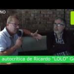 """RICARDO """"LOLO"""" GÓMEZ LANZA UNA DURA AUTOCRÍTICA POLÍTICA"""
