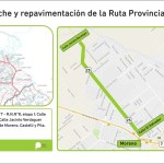 MORENO: REPAVIMENTACIÓN Y ENSANCHE DE RUTA 25